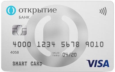 Смарт-карта, банк Открытие, до 11% кэшбэка