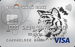 Кредитка банка Восточный